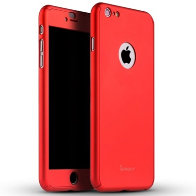 IPhone 6s 360 Front and Back Cover - Red