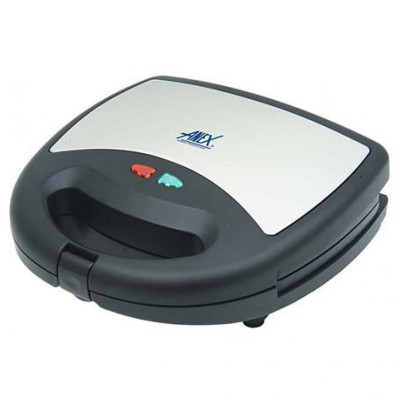 Sandwich Maker Ag-1037C Black And Silver