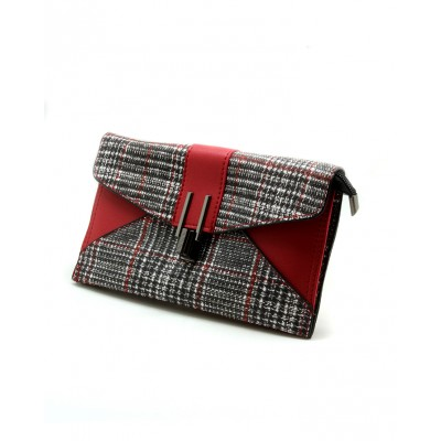 Multicolor Leather Fashion Clutch For Girls
