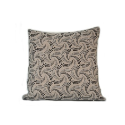 Stylish Floral Black White Cushion Cover