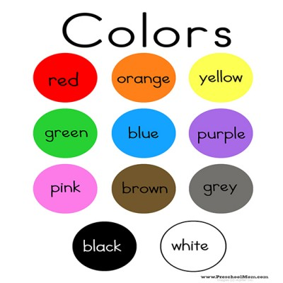 8 colored Sticker 21.0 x 29.7cm Kids Learning Stickers for school children preparation