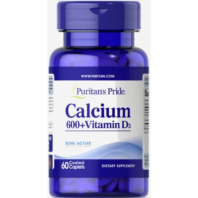 Puritan'S Pride Calcium Carbonate 600+Vitamin D3
