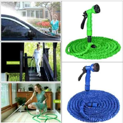 X Hose Pipe 100 Ft (30M) Adapter And Nozzle