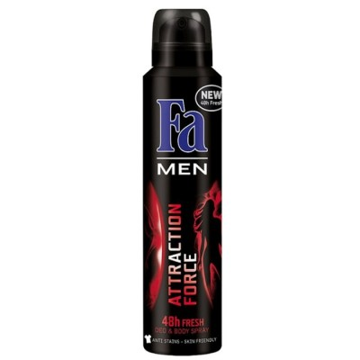 Fa Deo Spray Men Attraction Force 200ml
