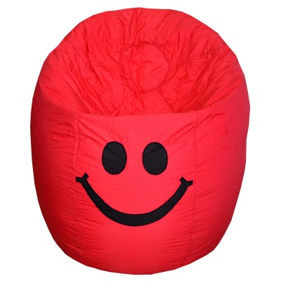Red Smiley Bean Bag - SML 01 A