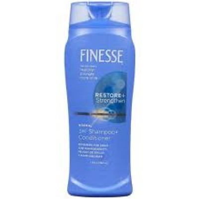 Finesse Shampoo Enhcig Restore + Strenght 2in1 443ml