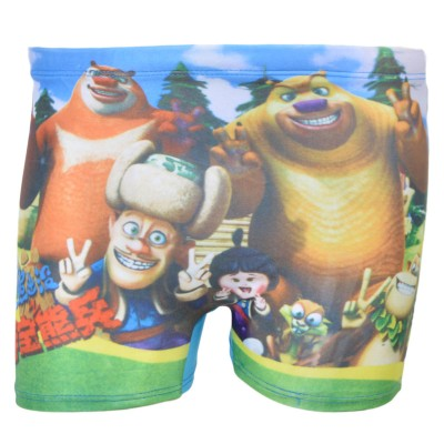 Cartoon Character Mini Swimming Shorts For Kids (For 2-4 Year Kids)