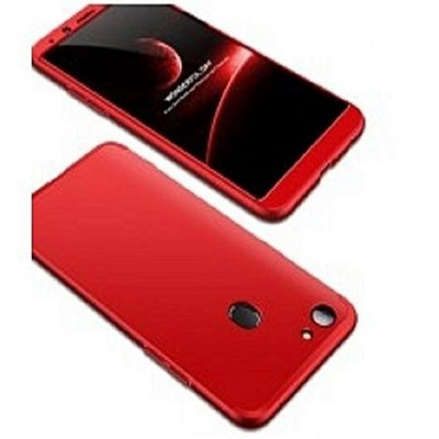 Oppo A83 360 Front and Back Cover - Red