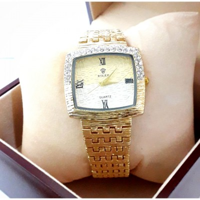 Ss Chain Watch For Her With Free Gift Box