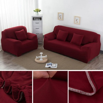 Red 6 Seater (3+2+1) Sofa Covers