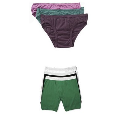 Pack of 6-Multicolor Cotton Boxer &  Brief Innerwear for Men-XL