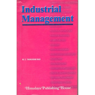 Industrial Management By Thukaram Rao