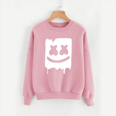Marshmello Printed Sweat Shirt for Men & Women Unisex