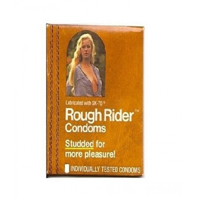 Rough Rider Studded And Dotted Condom 3 Pcs