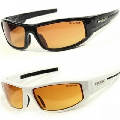 Pack of 2 - HD Night Vision & Day Glasses - Black & White
