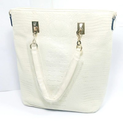 Imported Leather Tote Bag