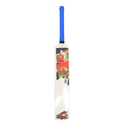 Tape Ball Wooden Bat For Kids (Soft Bat For 6 8 Year Kids 29.5 Inch Length)