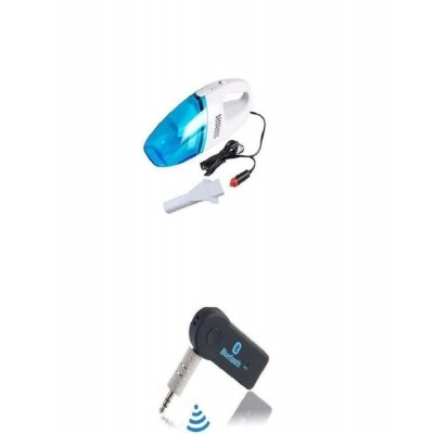 Pack Of 2 Bluetooth Music Receiver Vacuum Cleaner