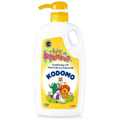 Kodomo Baby Conditioning Shampoo With Vitamin B5 750Ml