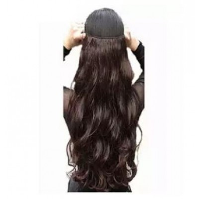 Synthetic Hair Extension For Women - Black
