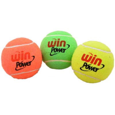 Win Power Tennis Ball For Cricket And Tennis Multicolor