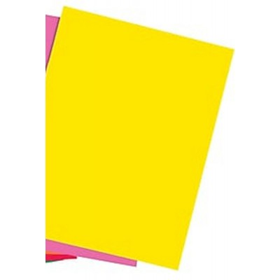 Pack of Yellow Colored Paper A4 80gsm