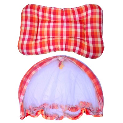 Red Printed Bed Net Combo Fa02965 Red Printed