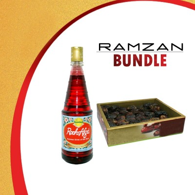 Rooh Afza - 800ml & 500gm Dates