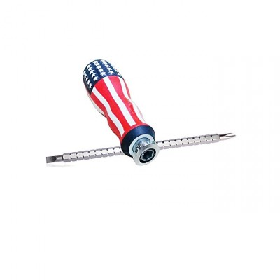 2 in 1 USA Flag Screwdriver