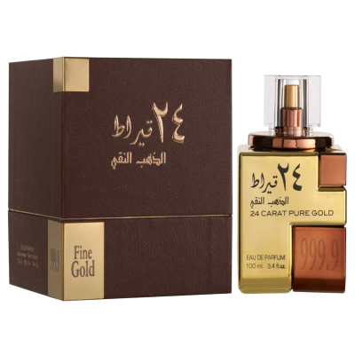 24 Carat Pure Gold Perfume for Men and Women - 100ml