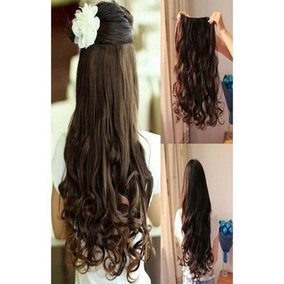 27 Inches Curly Hair Extension-Dark Brown
