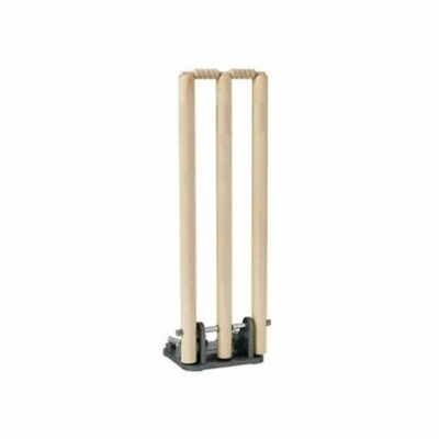 Wooden Wickets Good Quality (Wooden Stumps Standard Size)