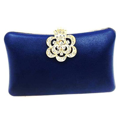 Blue Evening Clutch
