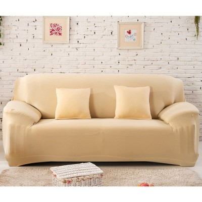 Light Brown 5 Seater (3+1+1) Sofa Cover