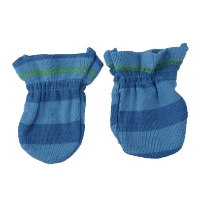 Soft Mittens for Newborn (06 Month) Babies Green