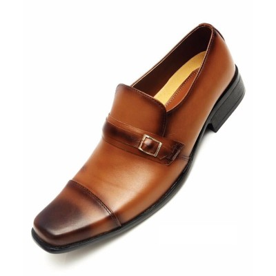 Brown Formal Leather shoes-L1050C