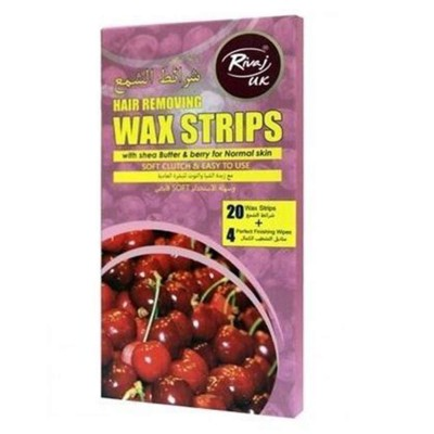 Butter and Berry Wax Strips-Pack of 20
