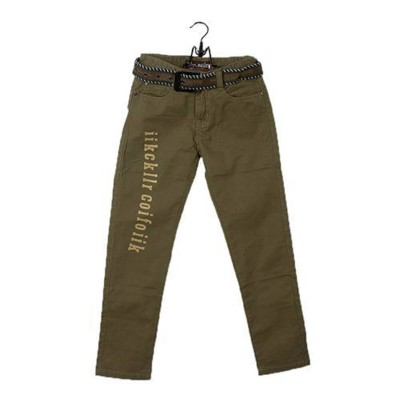 Five Pocket Casual Pant-Brown
