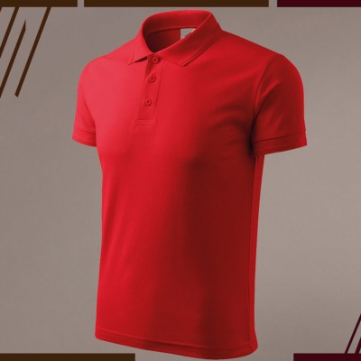 Men's Polo T-shirt - Red