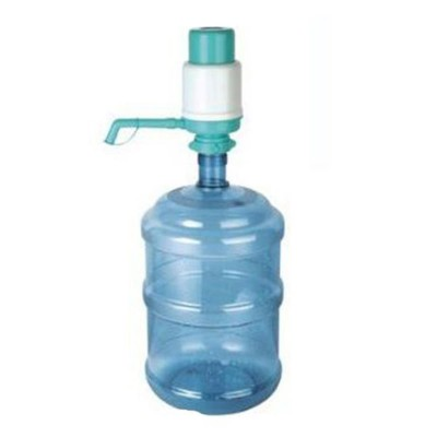White Sea-Green Manual Water Pump