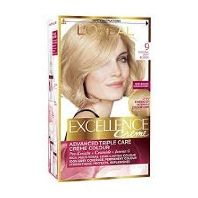 Loreal Excellence Cream Hair Color 9