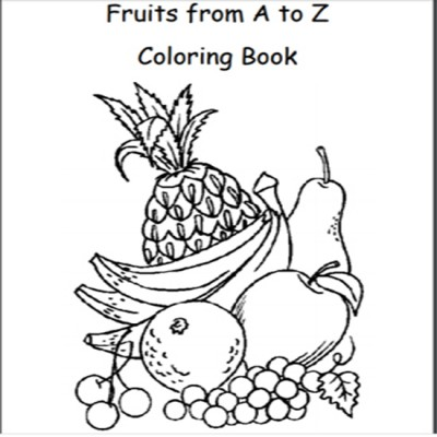Fruit Coloring book for Kids learning