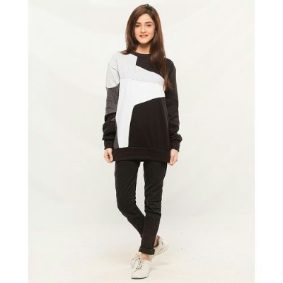 Winter panel sweatshirt With Tights