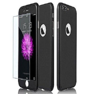 IPhone 6+ 360 Case with Glass Protector - Black