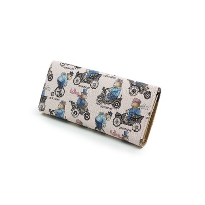 Printed Hand Clutch For Girls - Casual Use clutch - Multi Colors - BG220