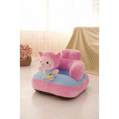 Infant Safety Seat Soft Stuffed Animal Cushion For Kids Back Support Plush Toy