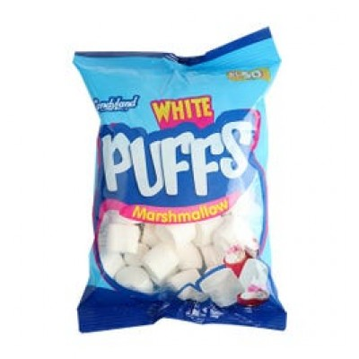 Candyland Marshmallow White Pouch 125g
