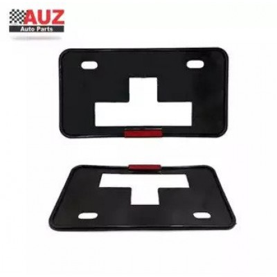 Car Number Plate Frames Set Of 2 Universal For All Cars