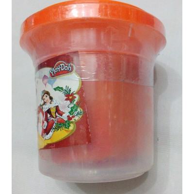1 Colour Play Dough For Kids Orange