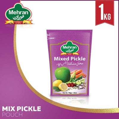 Mixed Pickles Pouch 1 Kg